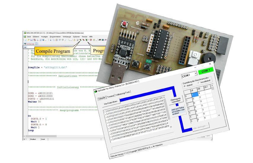 Ultraschall Entfernungsmesser I2c : Lehrerfortbildung mikrocontroller u2013 g. heinrichs homepage
