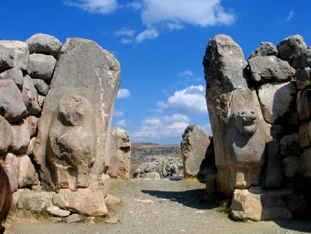 Löwentor in Hattusa Quelle: He-ba-mue